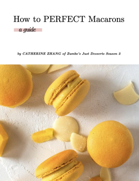 Guide on perfecting Macarons
