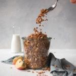 Crunchy Cinnamon and Almond Granola