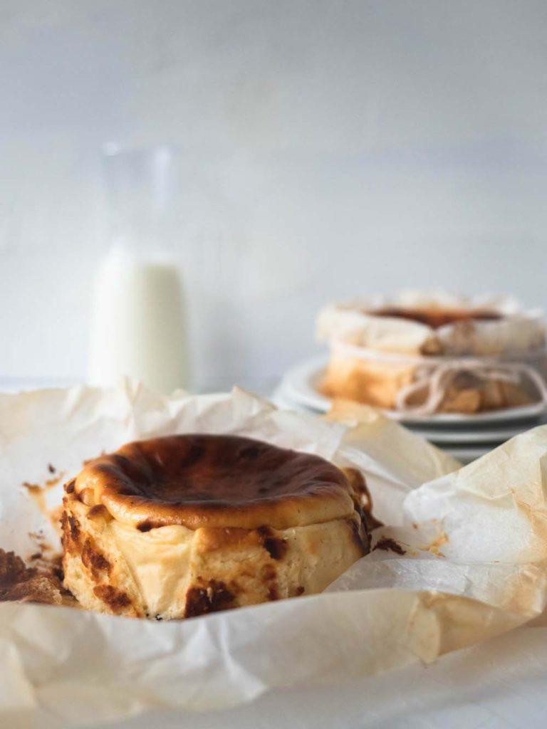 Mini Burnt Basque Cheesecake