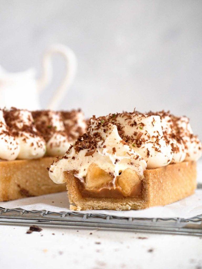Baked Caramel Banoffee Tartlet