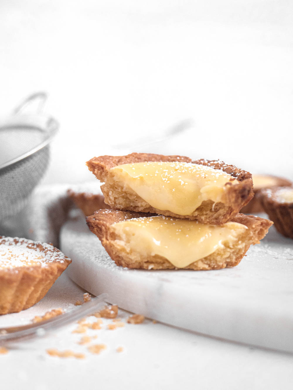 Hokkaido Baked Molten Cheese Tarts with Buttery and Flakey Pastry